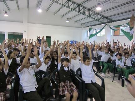 En el colegio Cabecera del Llano